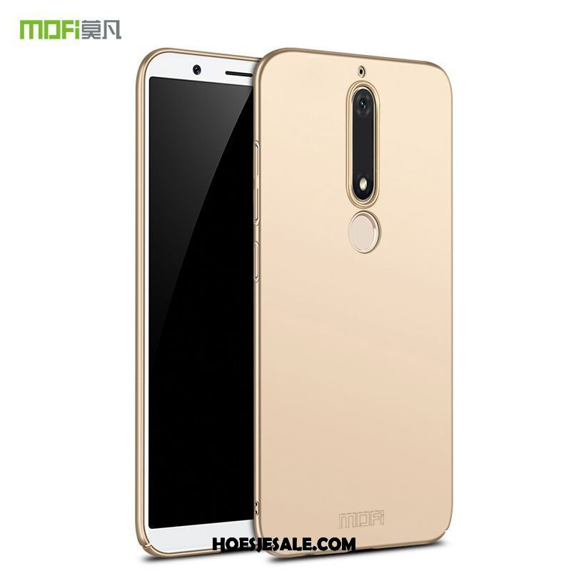 Nokia 6.1 Hoesje Bescherming Anti-fall Goud Hoes All Inclusive Sale