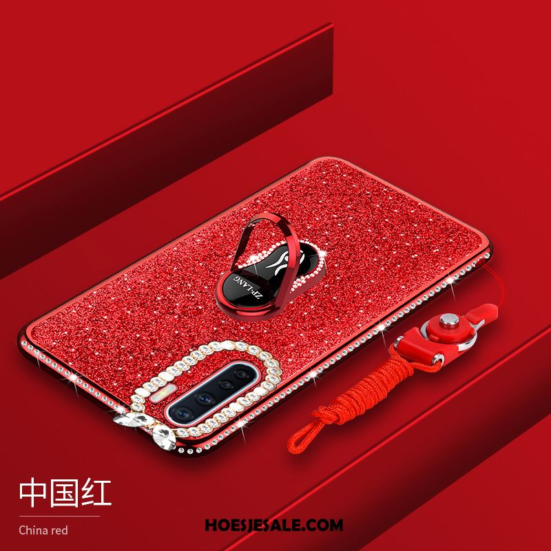 Oppo A91 Hoesje Bescherming Roze Trend All Inclusive Plating Korting