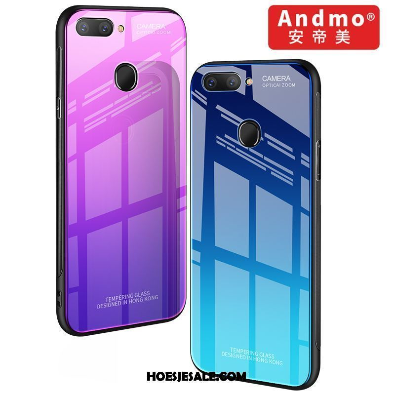 Oppo R11s Hoesje Anti-fall All Inclusive Trend Mobiele Telefoon Purper Sale