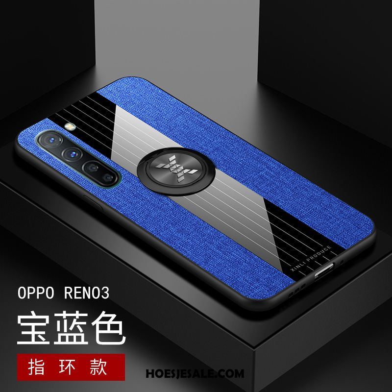 Oppo Reno 3 Hoesje Patroon Schrobben Anti-fall All Inclusive Siliconen Korting
