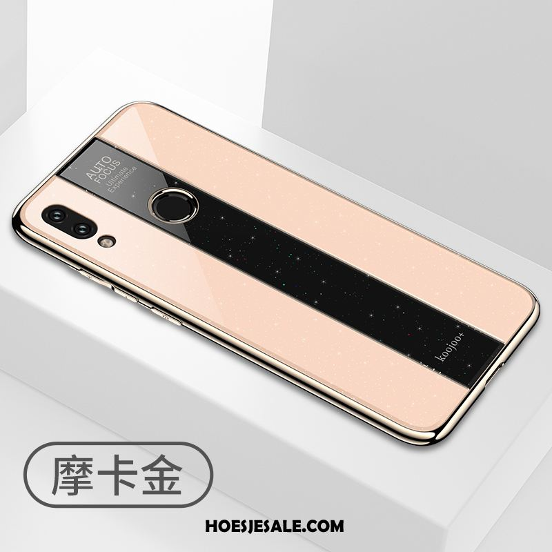 Redmi Note 7 Hoesje Mini Goud Siliconen Anti-fall Zacht