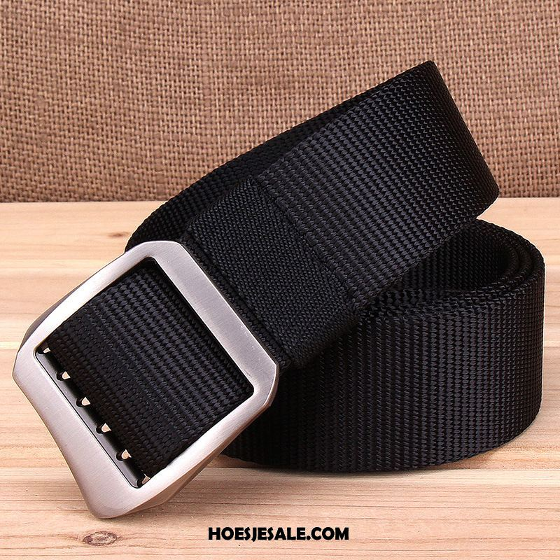 Riemen Heren Canvas Riem Glad Verlengen Casual Sale