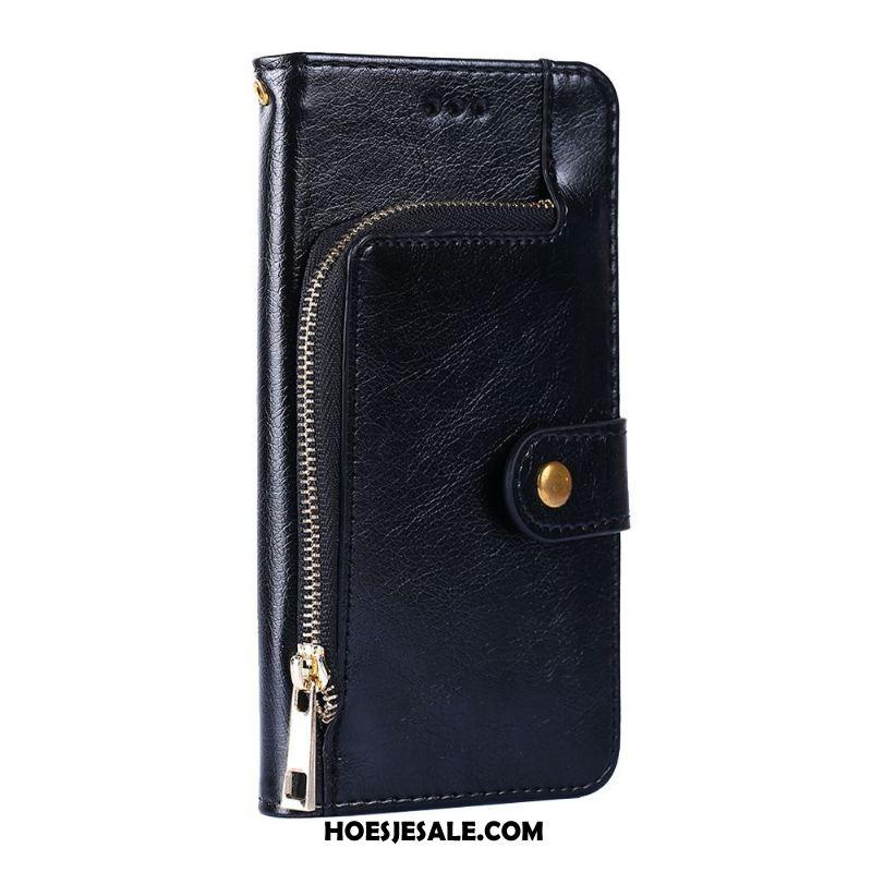Samsung Galaxy A50 Hoesje Hoes Bescherming Portemonnee Leren Etui Ster Winkel