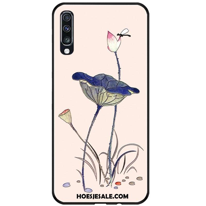 Samsung Galaxy A70s Hoesje Mobiele Telefoon Zacht Reliëf Hoes Ster Sale