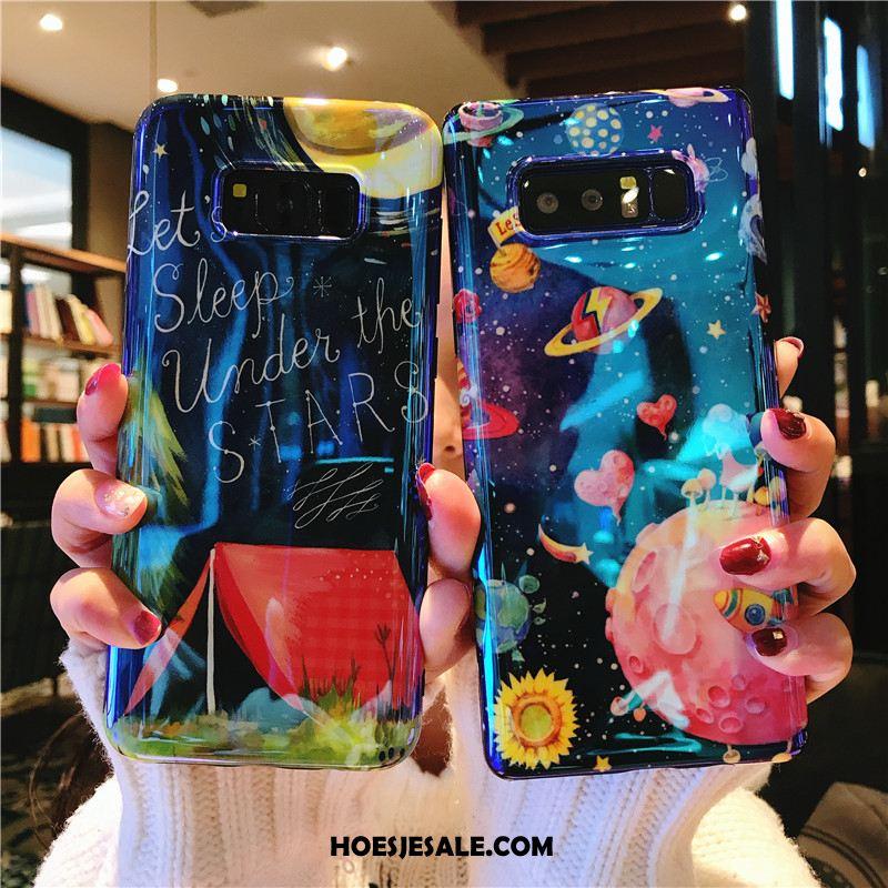 Samsung Galaxy Note 8 Hoesje Anti-fall Zacht Sterrenhemel Persoonlijk Mobiele Telefoon Online