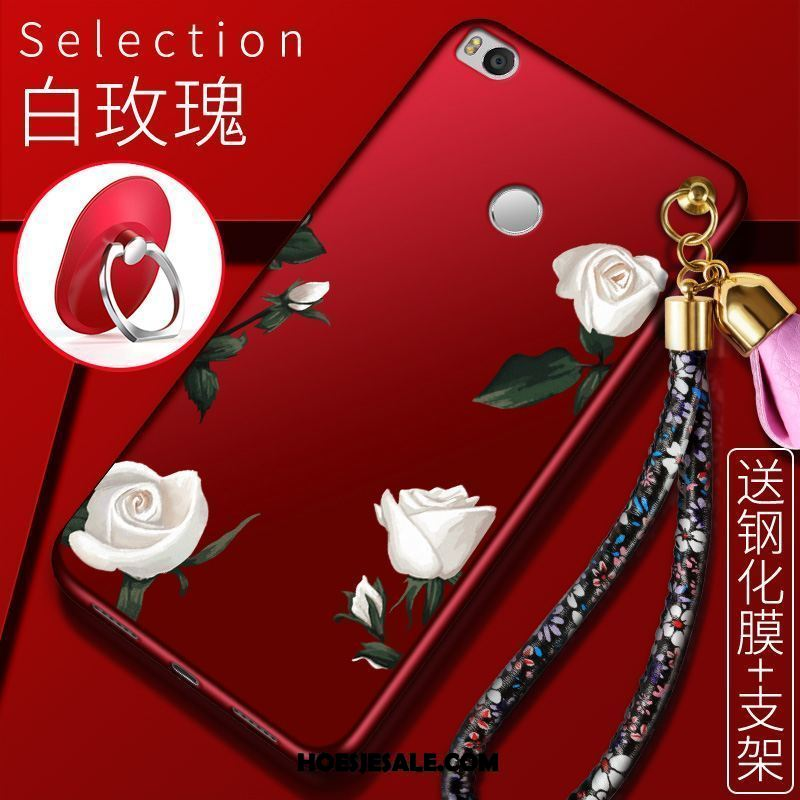 Xiaomi Mi Max 2 Hoesje Siliconen Bescherming Hoes Anti-fall Rood Online