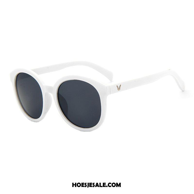 46f7ac8f7b02e7 Zonnebrillen Dames Zonnebril Straat Het Schieten Trend Rond Gezicht Vintage  Goedkoop