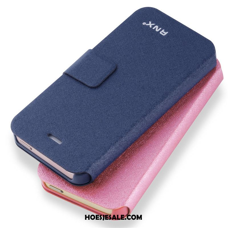iPhone 5 / 5s Hoesje Hoes Mobiele Telefoon Clamshell All Inclusive Blauw Online