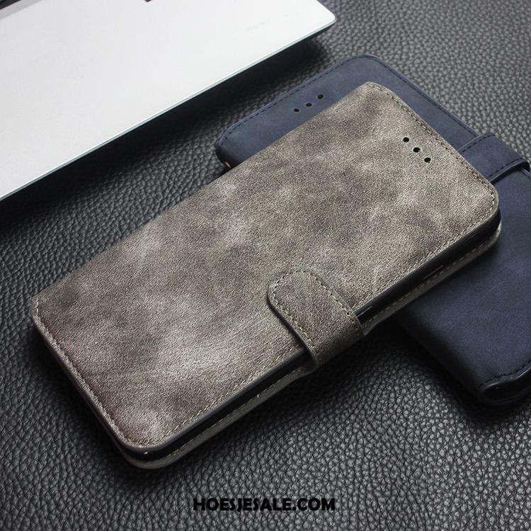 iPhone 7 Plus Hoesje Bescherming Anti-fall Siliconen Bedrijf Echt Leer Goedkoop