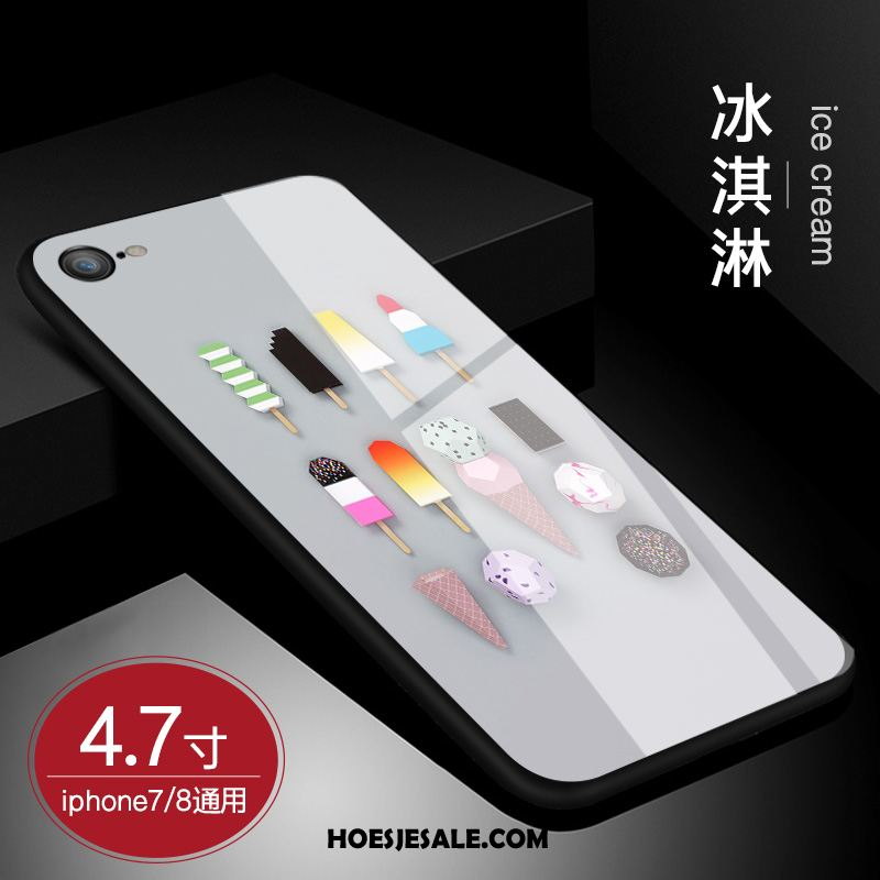 iPhone 8 Hoesje Lovers Hoes Zacht All Inclusive Glas Sale