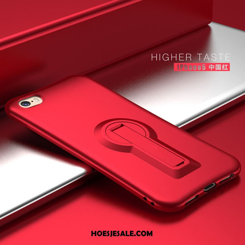 iPhone Se 2020 Hoesje Eenvoudige Anti-fall Rood Hoes All Inclusive Online
