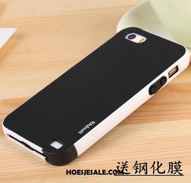 iPhone Se Hoesje Mobiele Telefoon Anti-fall Hoes Siliconen All Inclusive Sale