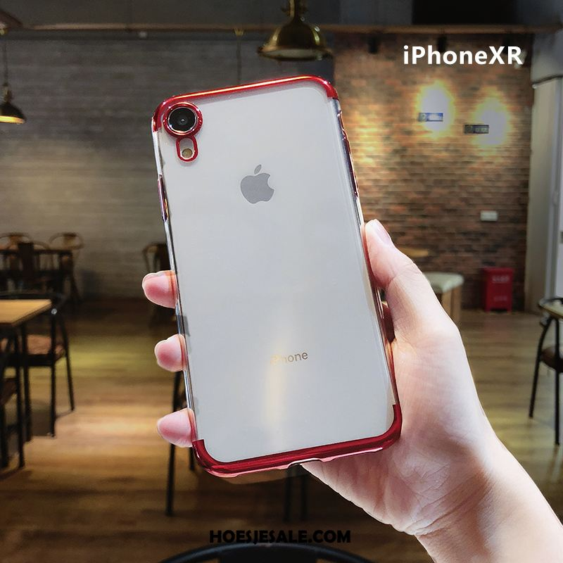 iPhone Xr Hoesje Anti-fall All Inclusive Trend Hoes Rood Winkel
