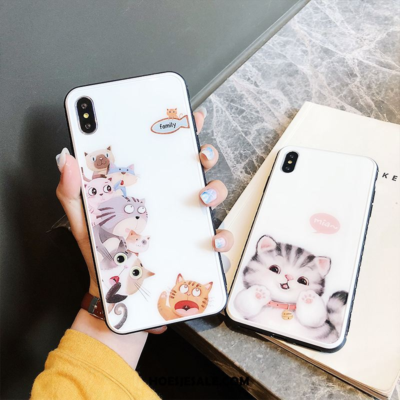 iPhone Xs Hoesje All Inclusive Nieuw Anti-fall Trendy Merk Bescherming Sale